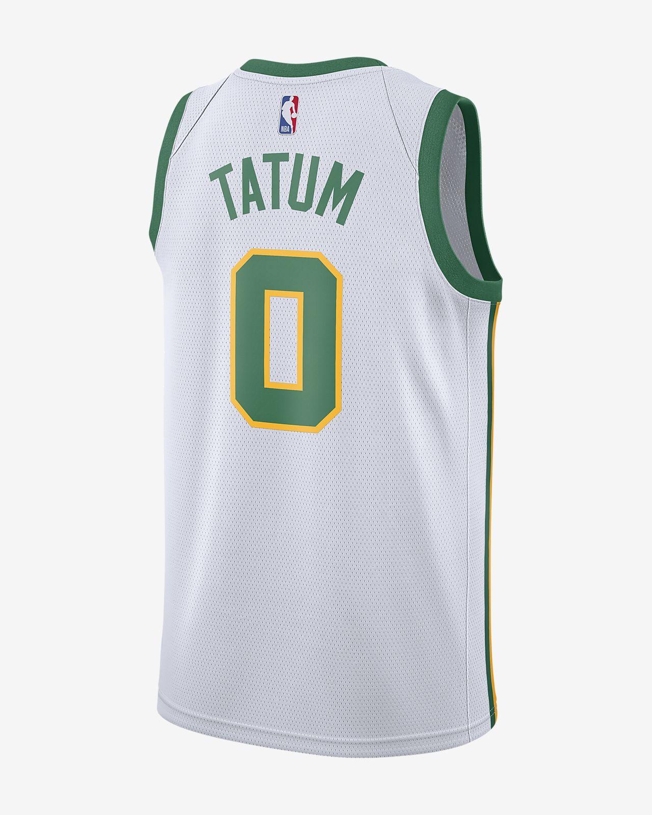 3a4078d171a4 ... Jayson Tatum City Edition Swingman (Boston Celtics) Men s Nike NBA  Connected Jersey