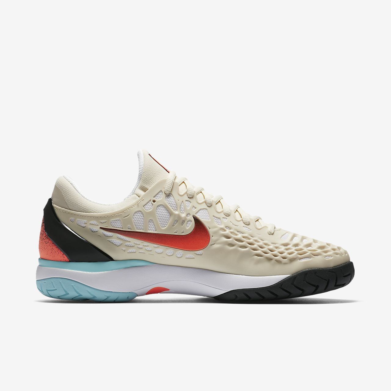 AIR ZOOM CAGE 3 HC - Tennisschuh Outdoor - light cream/hyper crimson/black Billig Authentisch Hyper Online 37zA6bTtk