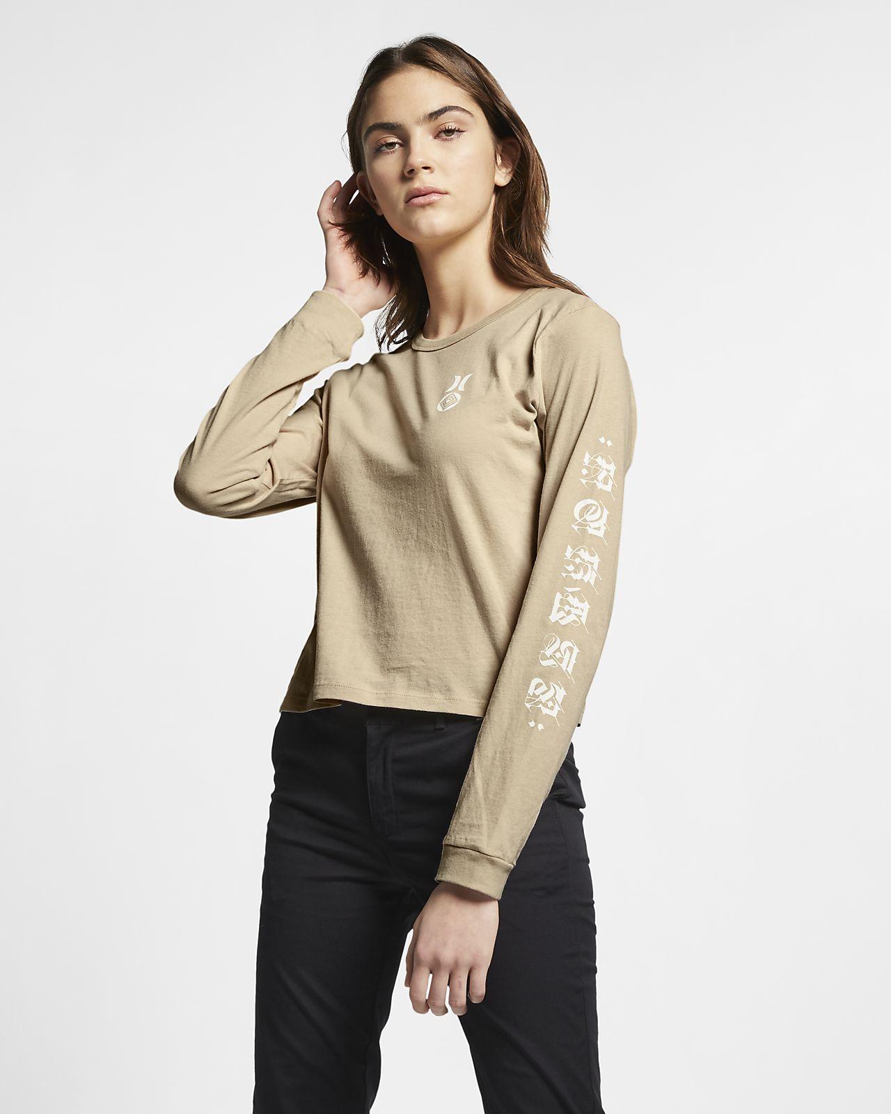 Koszulka z długim rękawem Hurley Cryptik – damska