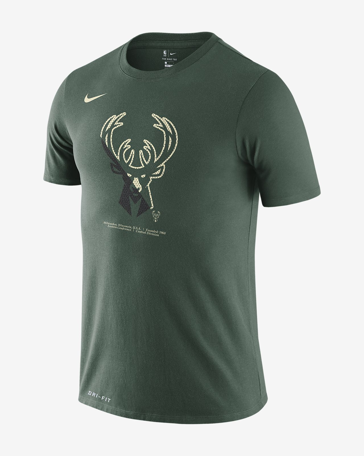 Milwaukee Bucks Nike Dri-FIT Men's NBA T-Shirt
