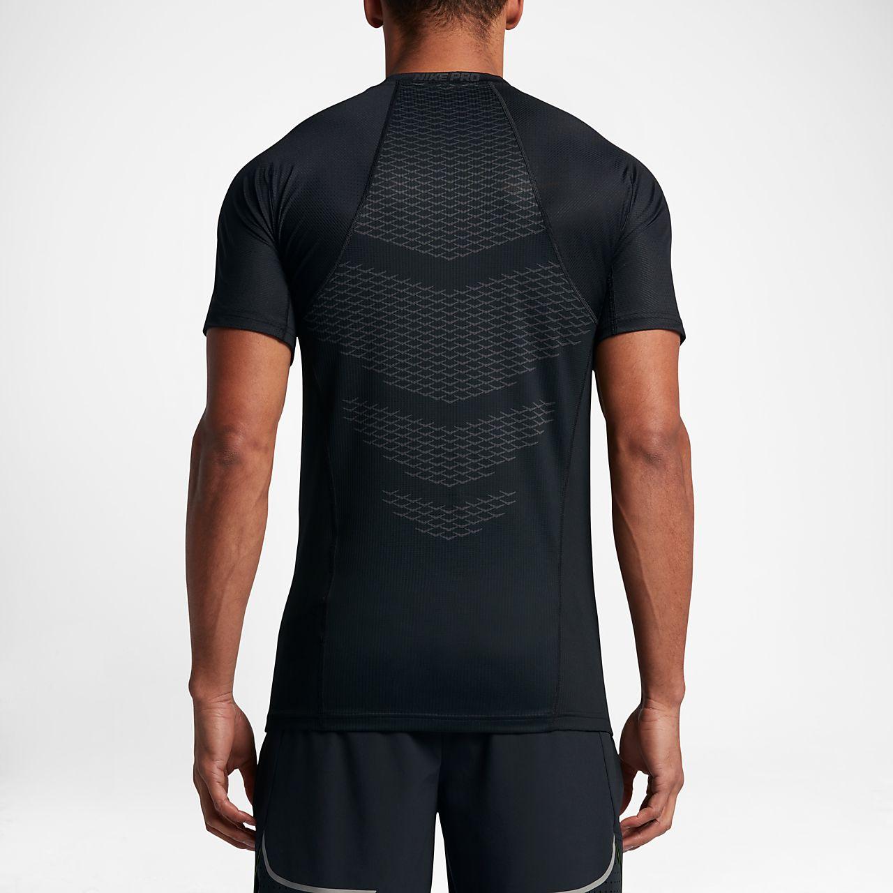 Haut à manches courtes Nike Pro HyperCool pour Homme