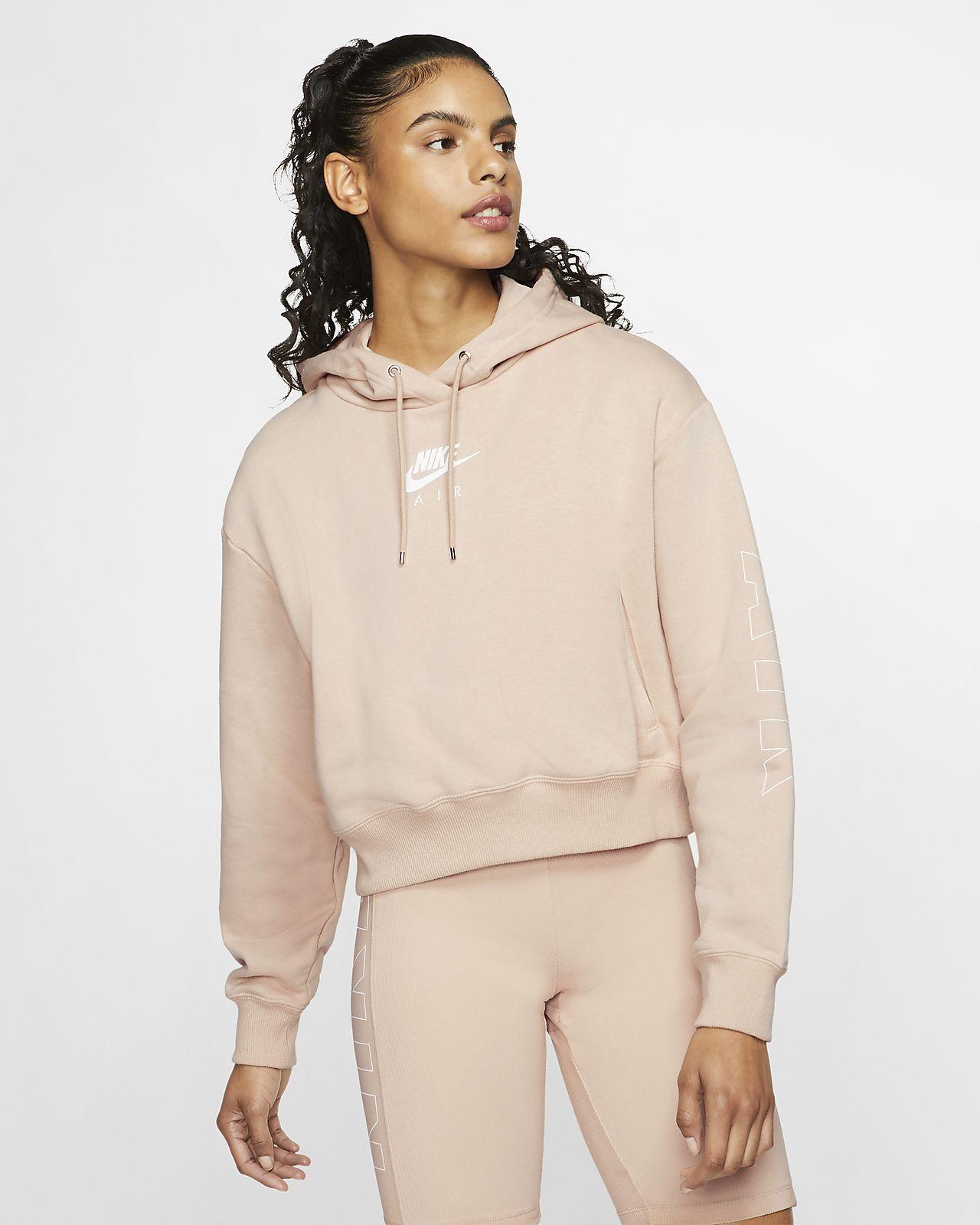 Sudadera con capucha de vellón para mujer Nike Air
