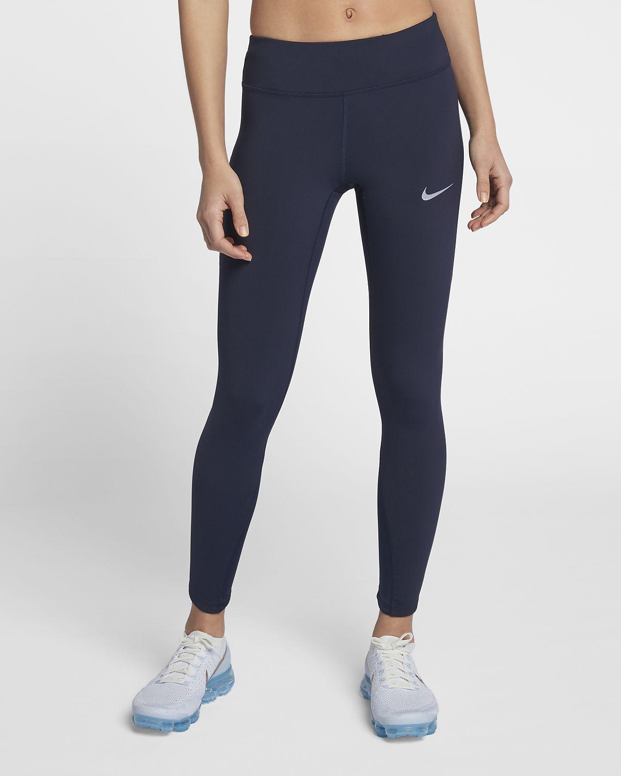 f161e2dfc21 Dámské běžecké legíny Nike Epic Lux se středně vysokým pasem. Nike ...