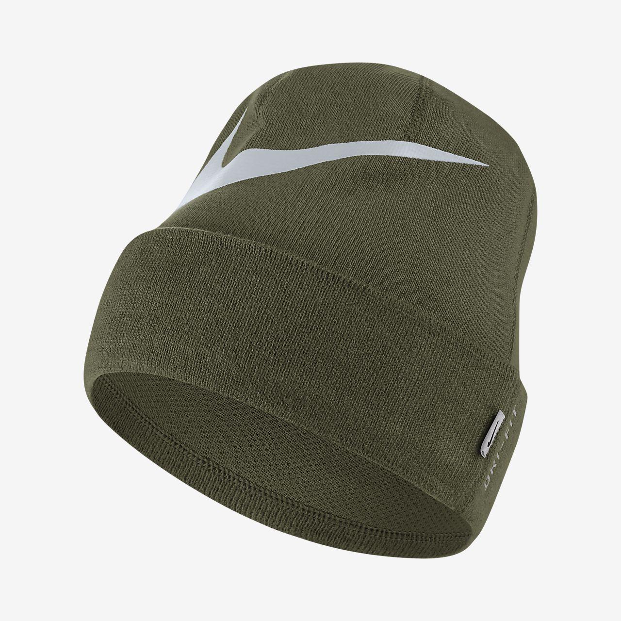 Gorro tejido de entrenamiento Nike Swoosh Cuffed. Nike.com MX 4cea7468e21