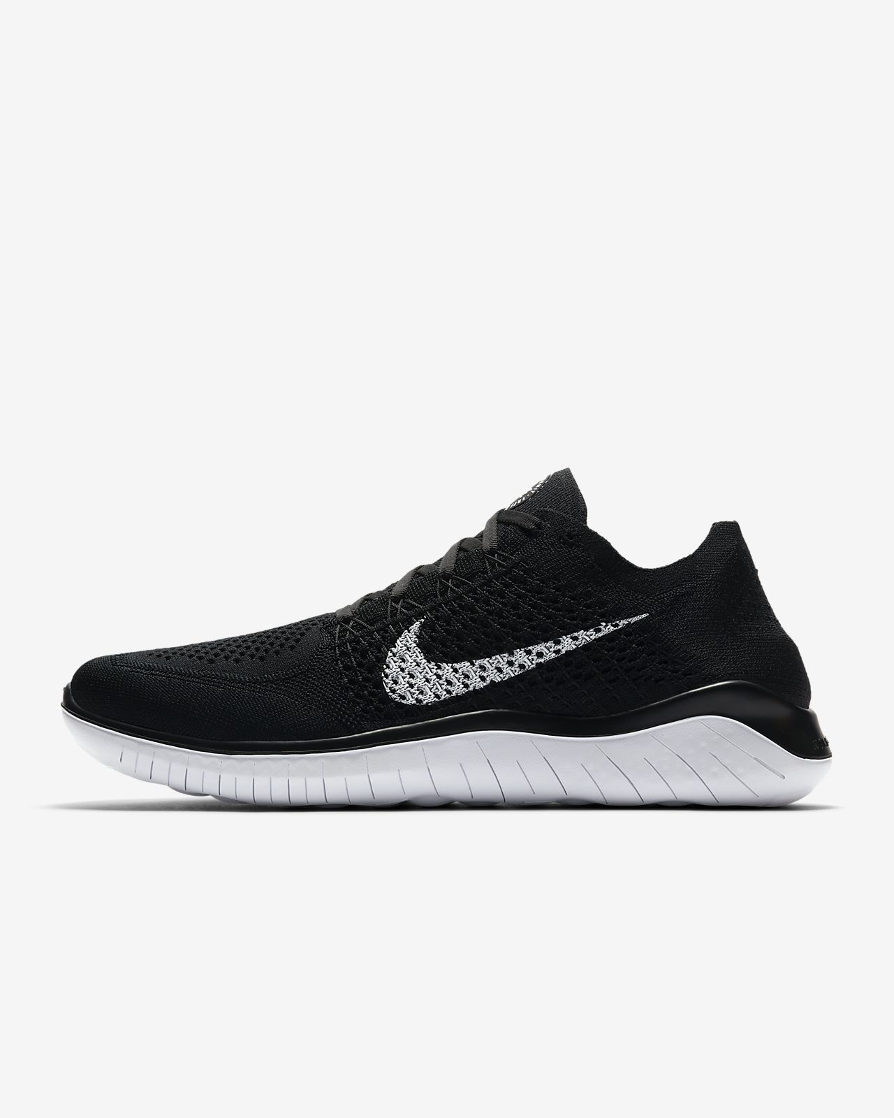 purchase cheap 76ada 26667 Nike Free RN Flyknit 2018 Men's Running Shoe