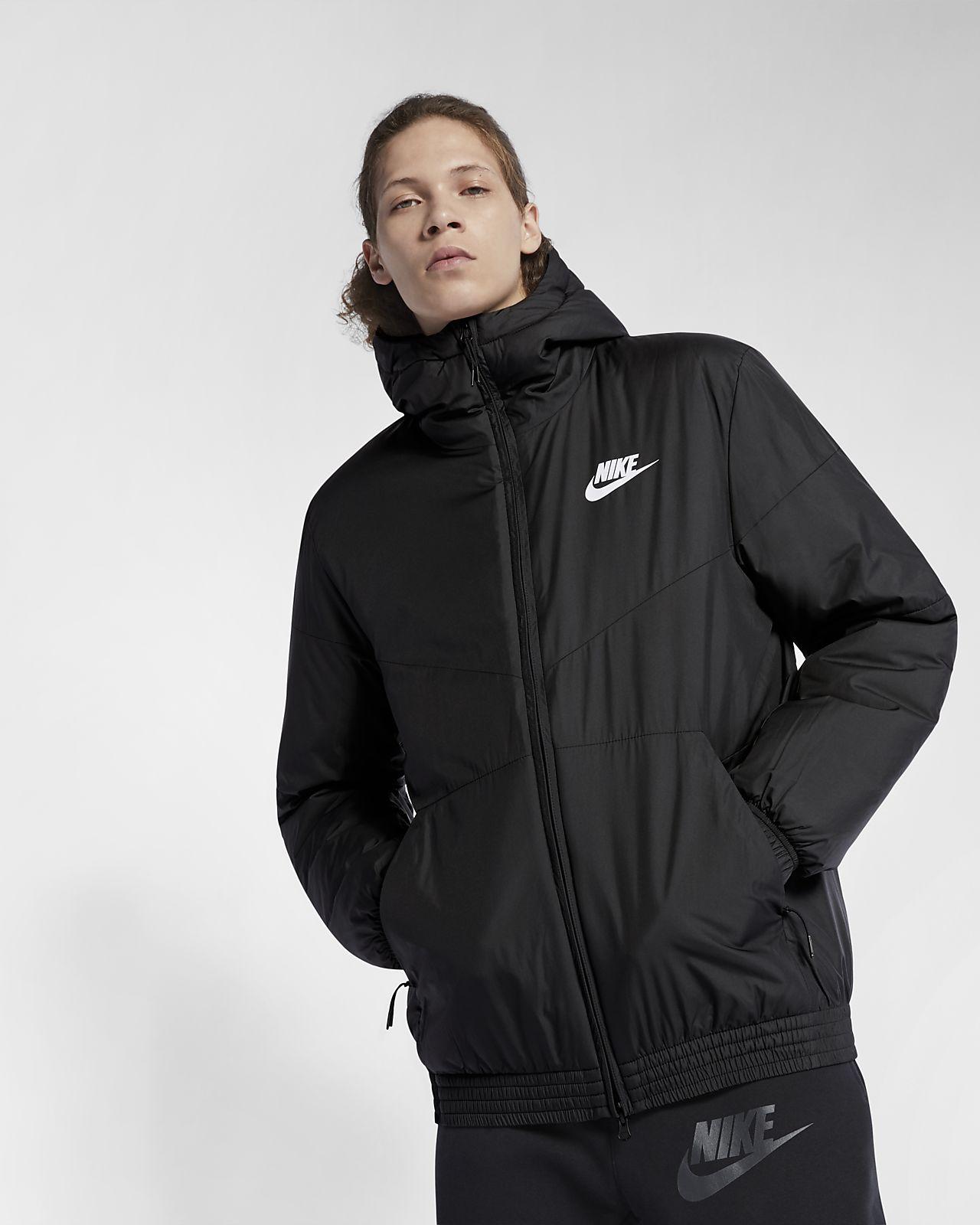 52312130898 Nike Sportswear-jakke med hætte og syntetisk fyld til mænd. Nike.com DK