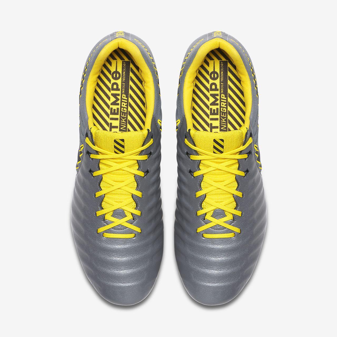 À Pour Gras Nike Chaussure Football Crampons De Terrain Tiempo 7f6IYbyvmg