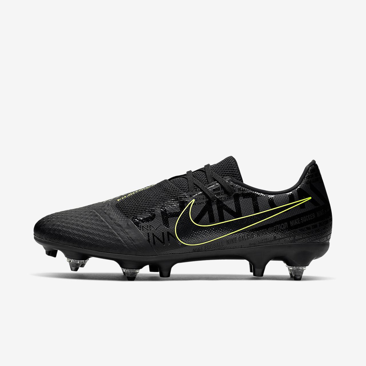 Nike PhantomVNM Academy SG-Pro Anti-Clog Traction Fußballschuh für weichen Rasen