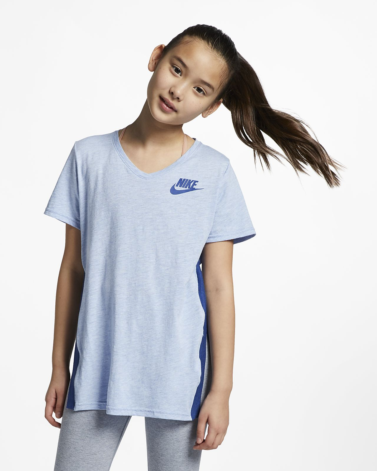 Nike Sportswear Big Kids' (Girls') Short-Sleeve Top