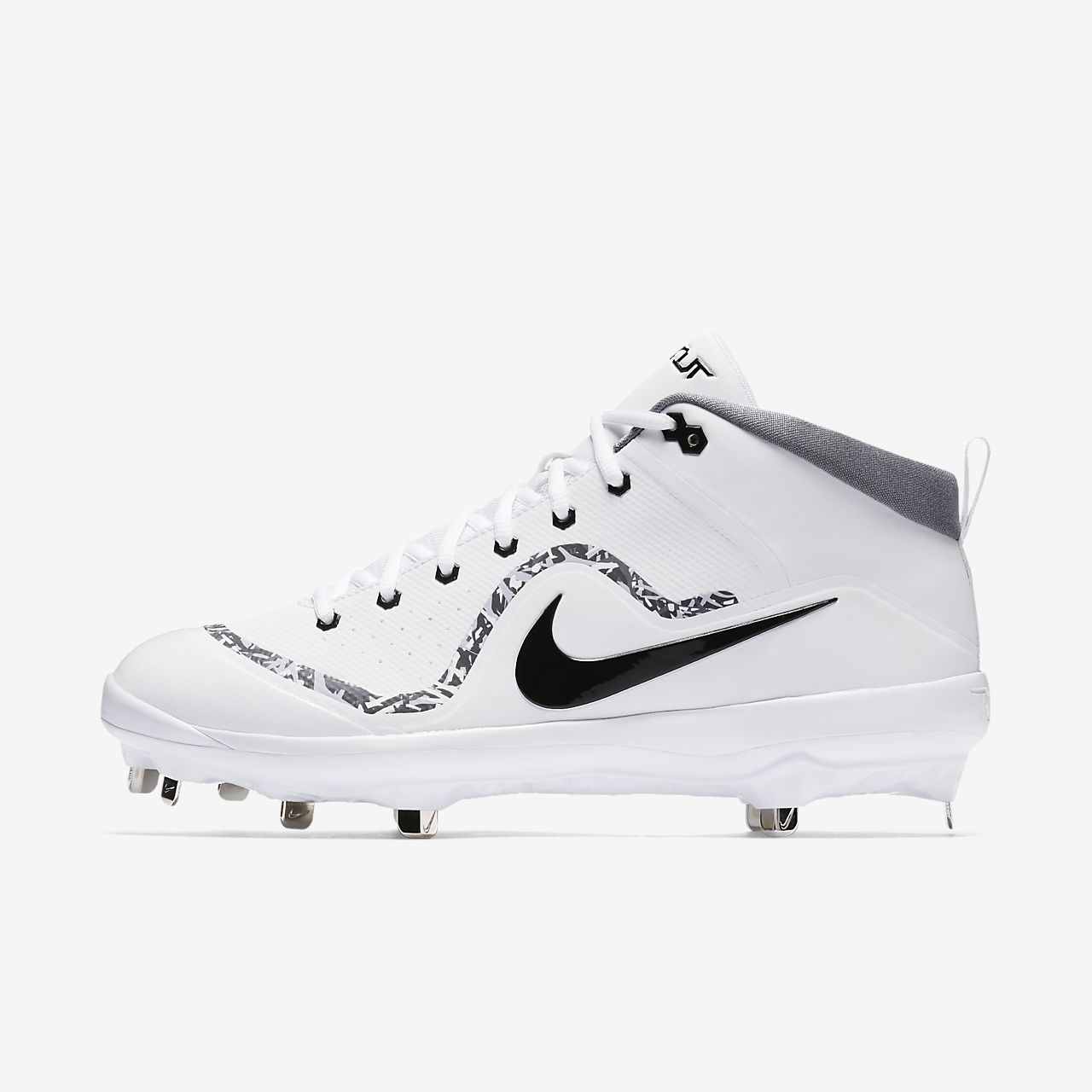 greece nike force trout 4 pro mcs mens mike trout white black 11f18 ... 7104f3949