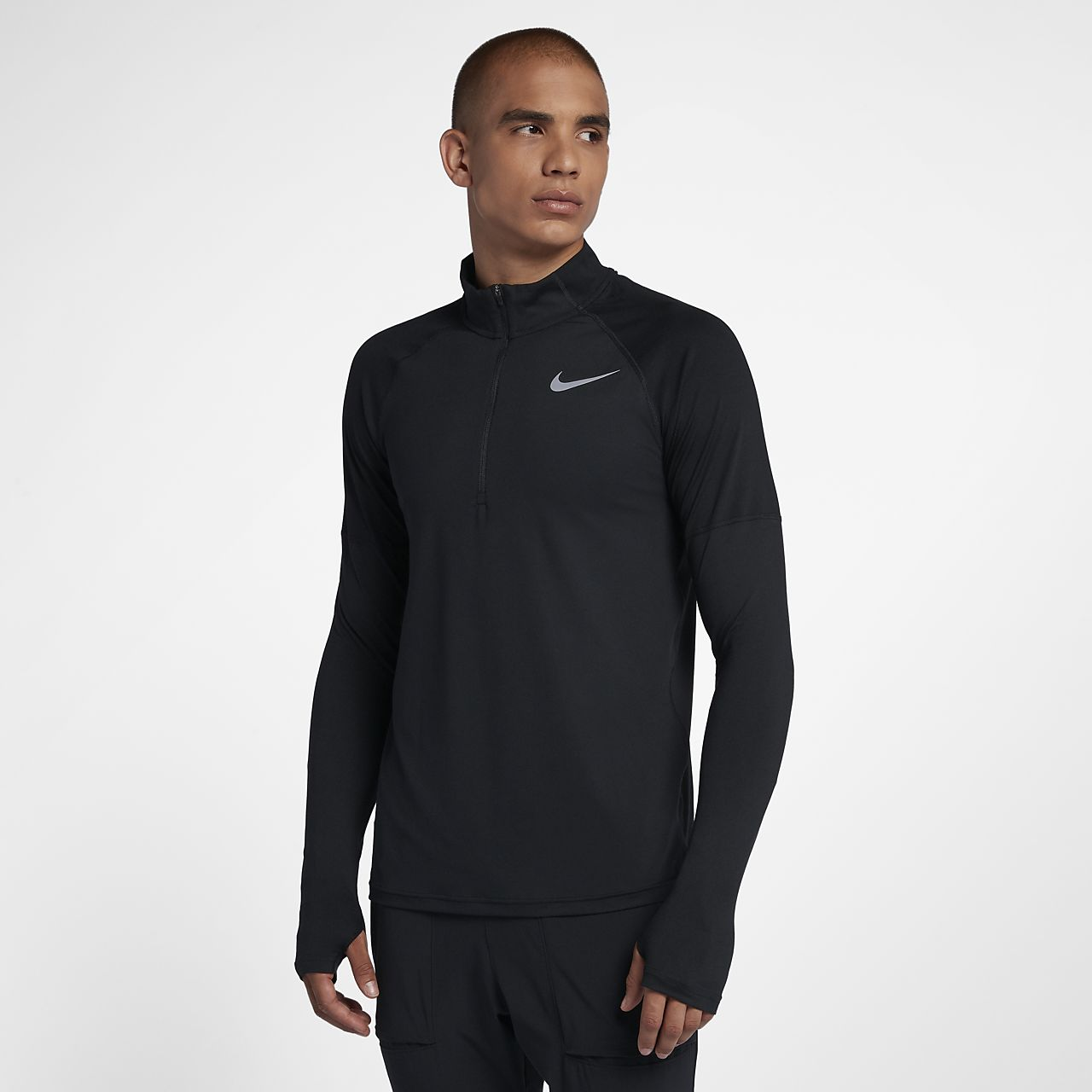 Löpartröja Nike med halv dragkedja för män