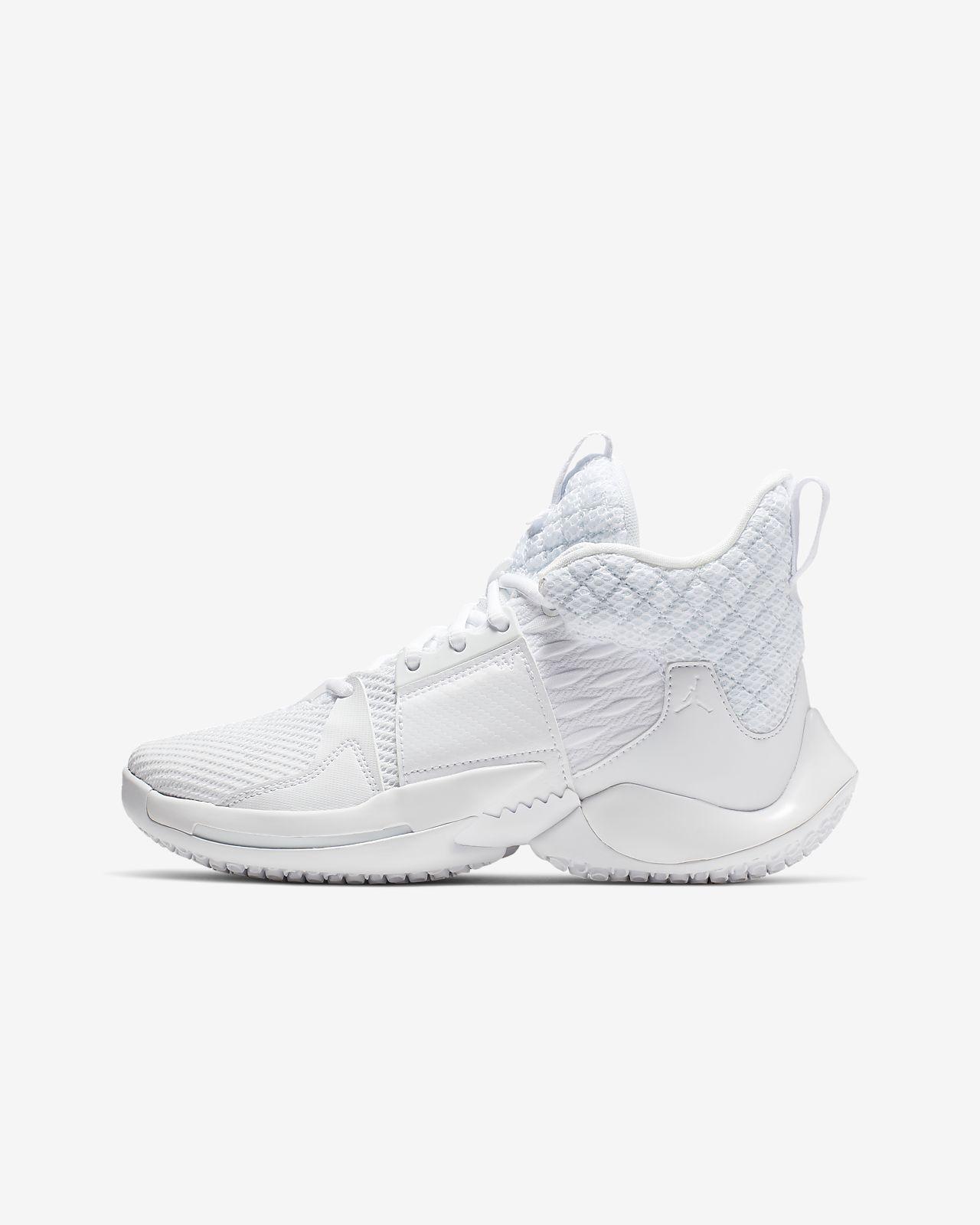 """36fdd25215b8b Jordan """"Why Not """" Buty do koszykówki dla dużych dzieci Zer0.2. Nike ..."""