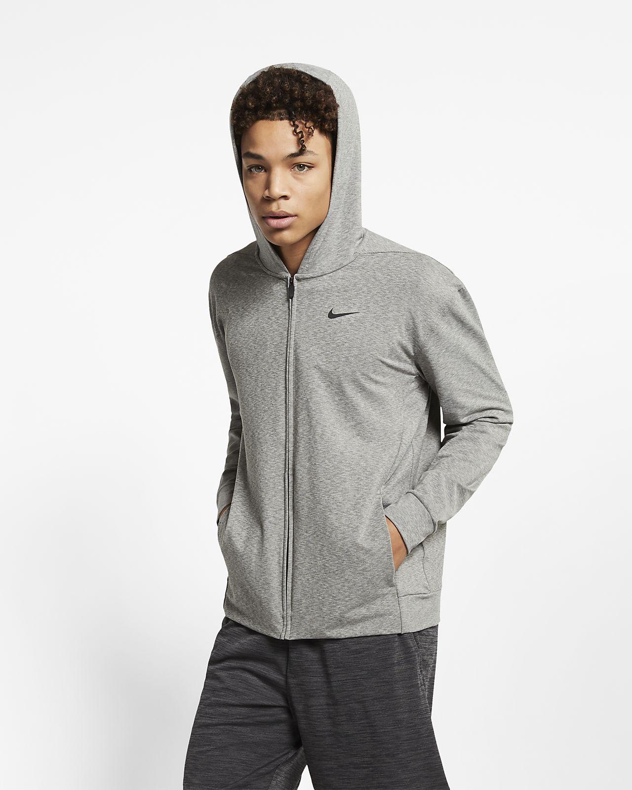Nike Dri FIT Yogatrainingshoodie met rits voor heren