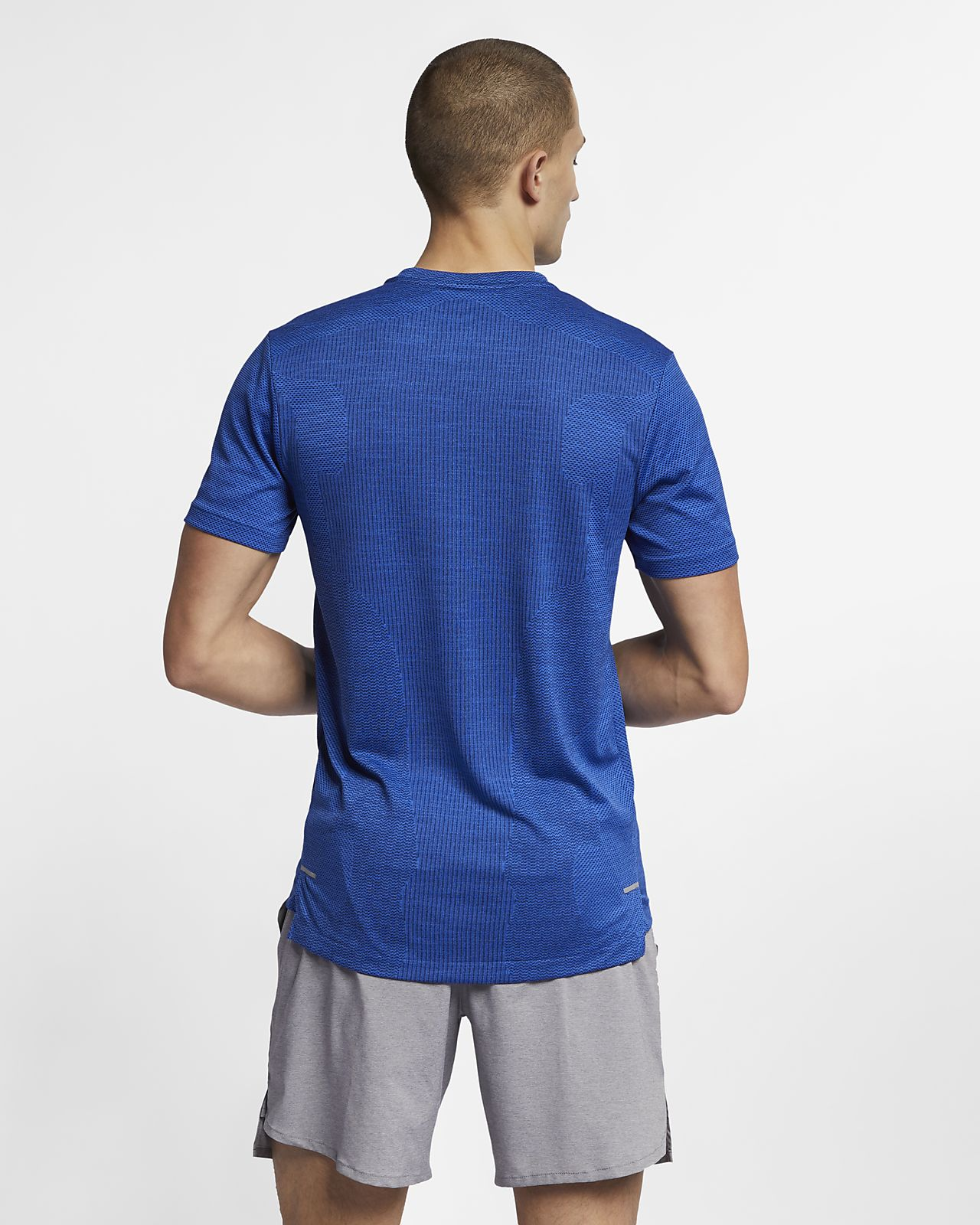 a8e73d171 Nike TechKnit Ultra Men's Short-Sleeve Running Top. Nike.com