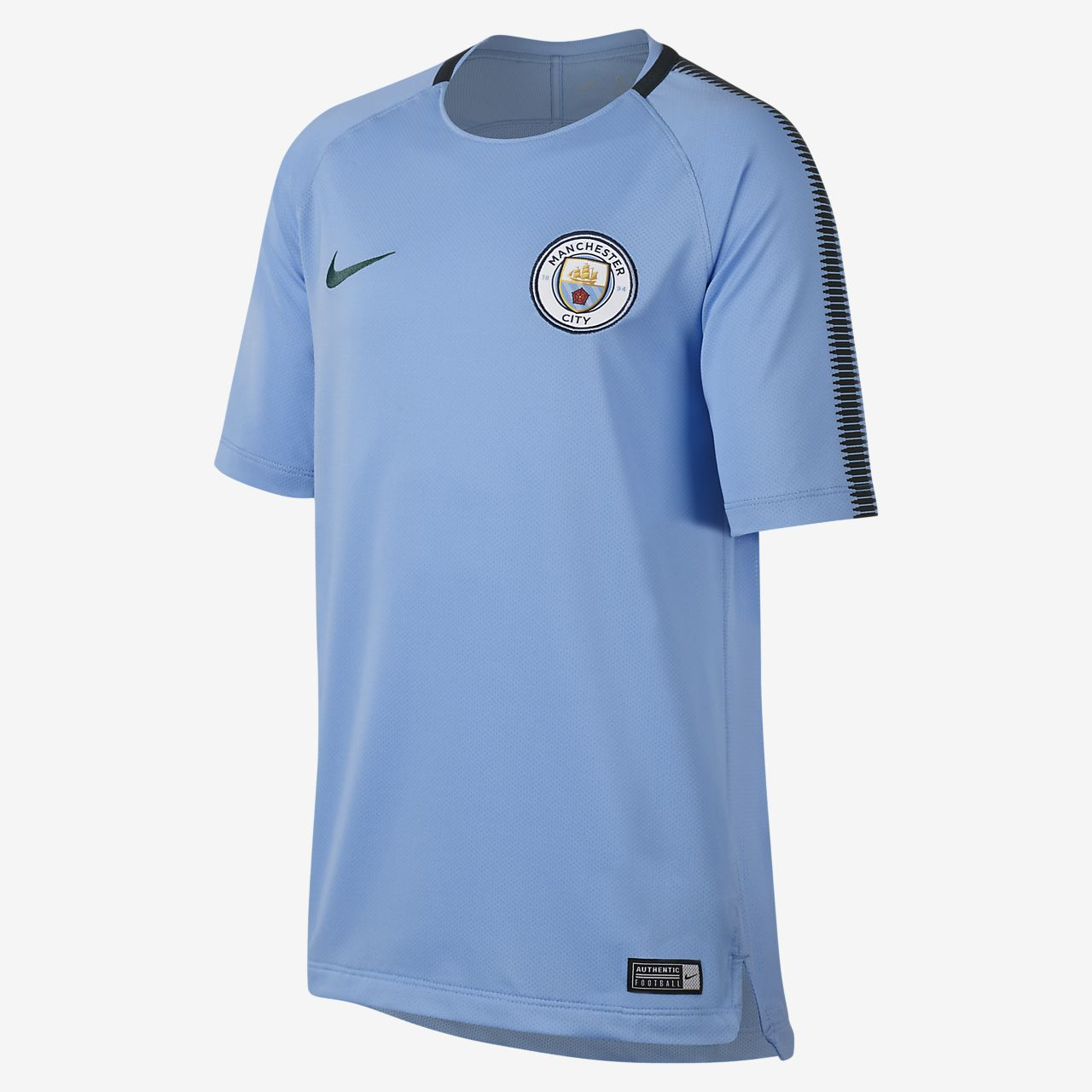 ... Manchester City FC Breathe Squad Older Kids' Football Top