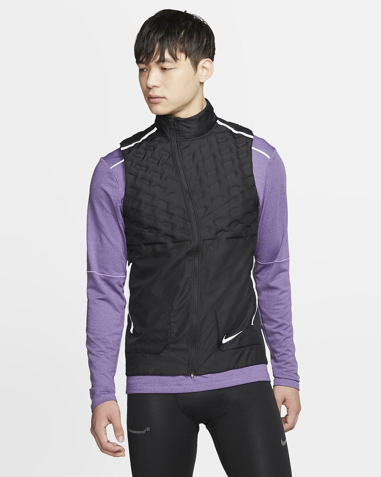 Veste de running sans manches Nike AeroLoft pour Homme