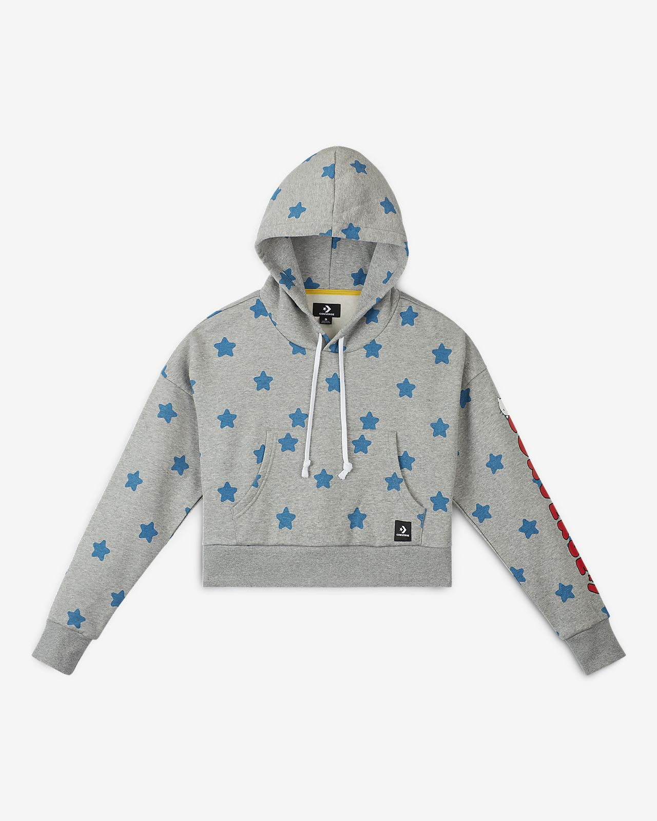 Converse x Hello Kitty  Women's Boxy Star Hoodie