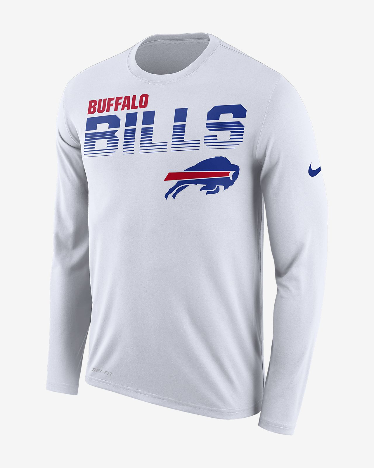 Nike Legend (NFL Bills) Men's Long-Sleeve T-Shirt