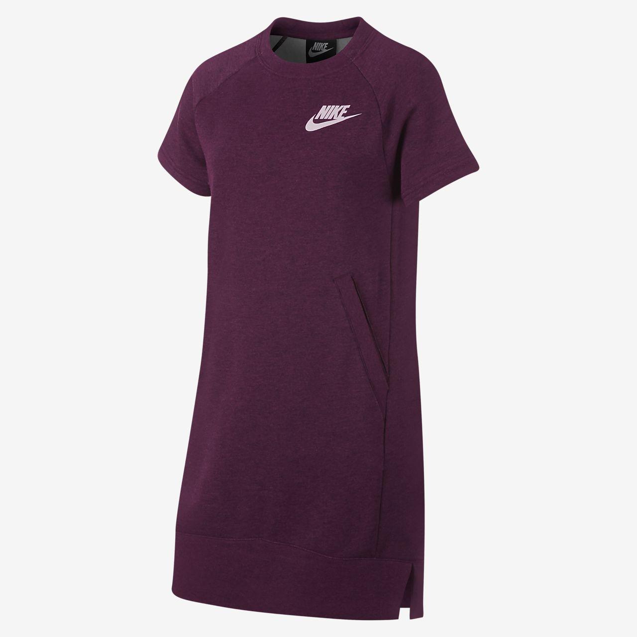 Nike Sportswear Big Kids' (Girls') Fleece Dress