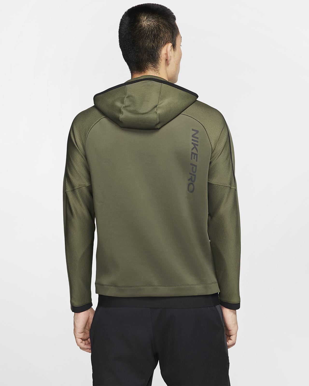 Nike Therma Training Hoodie Sweatshirts Hoodies for Men Brown