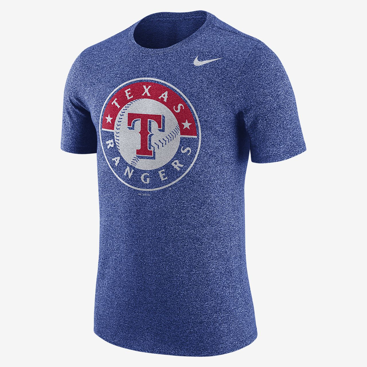 Nike Marled (MLB Rangers) Men's T-Shirts Royal