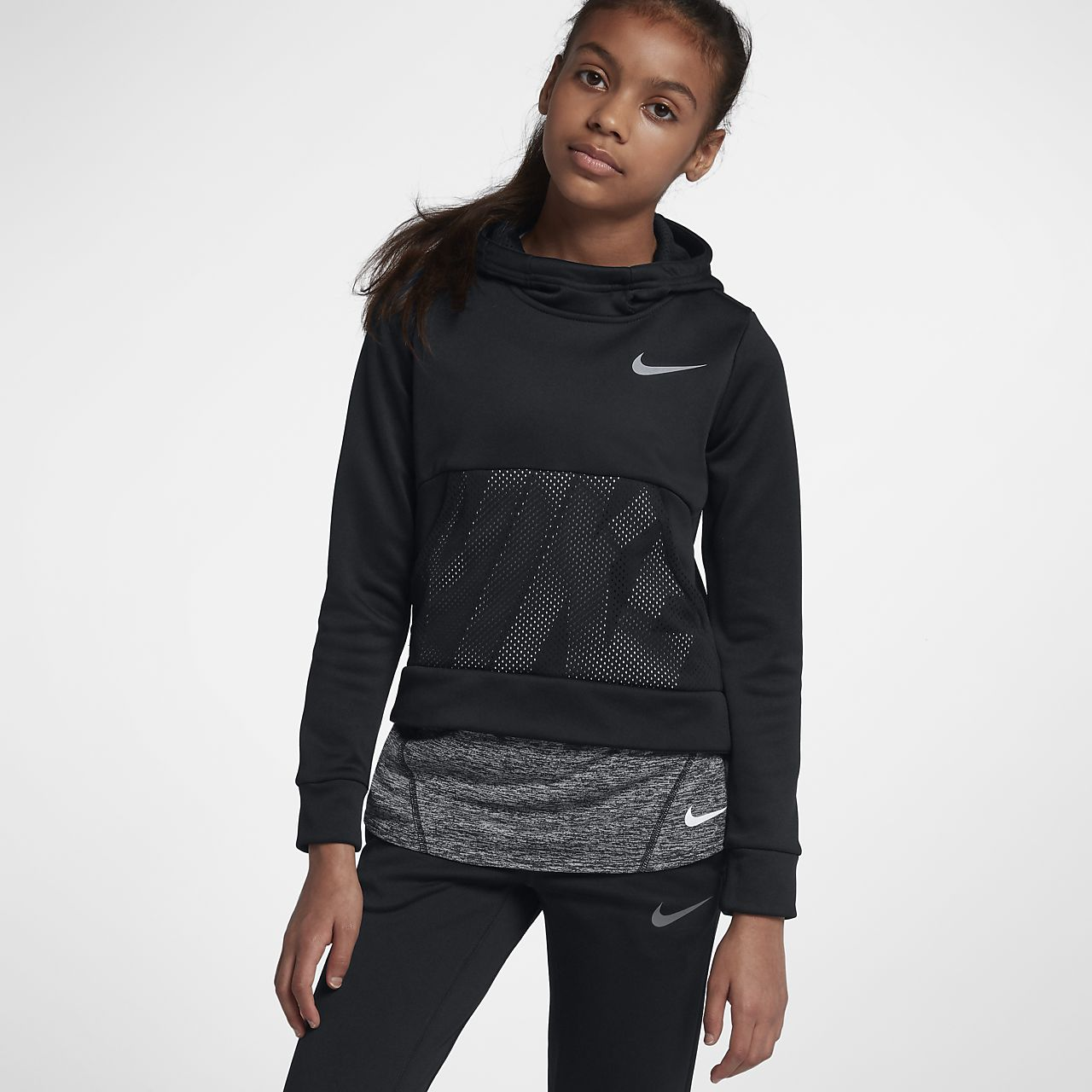 91e3b905c5b09 ... Nike Dri-FIT Therma Big Kids' (Girls') Training Pullover Hoodie