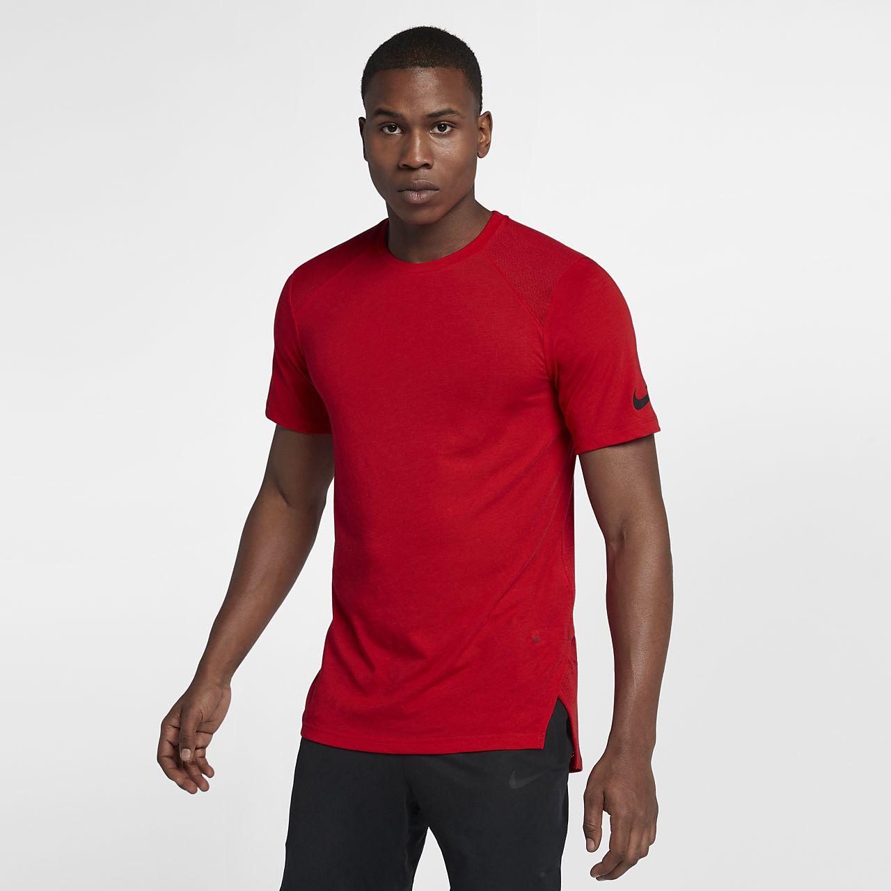 Nike Breathe Elite – kortærmet basketballoverdel til mænd