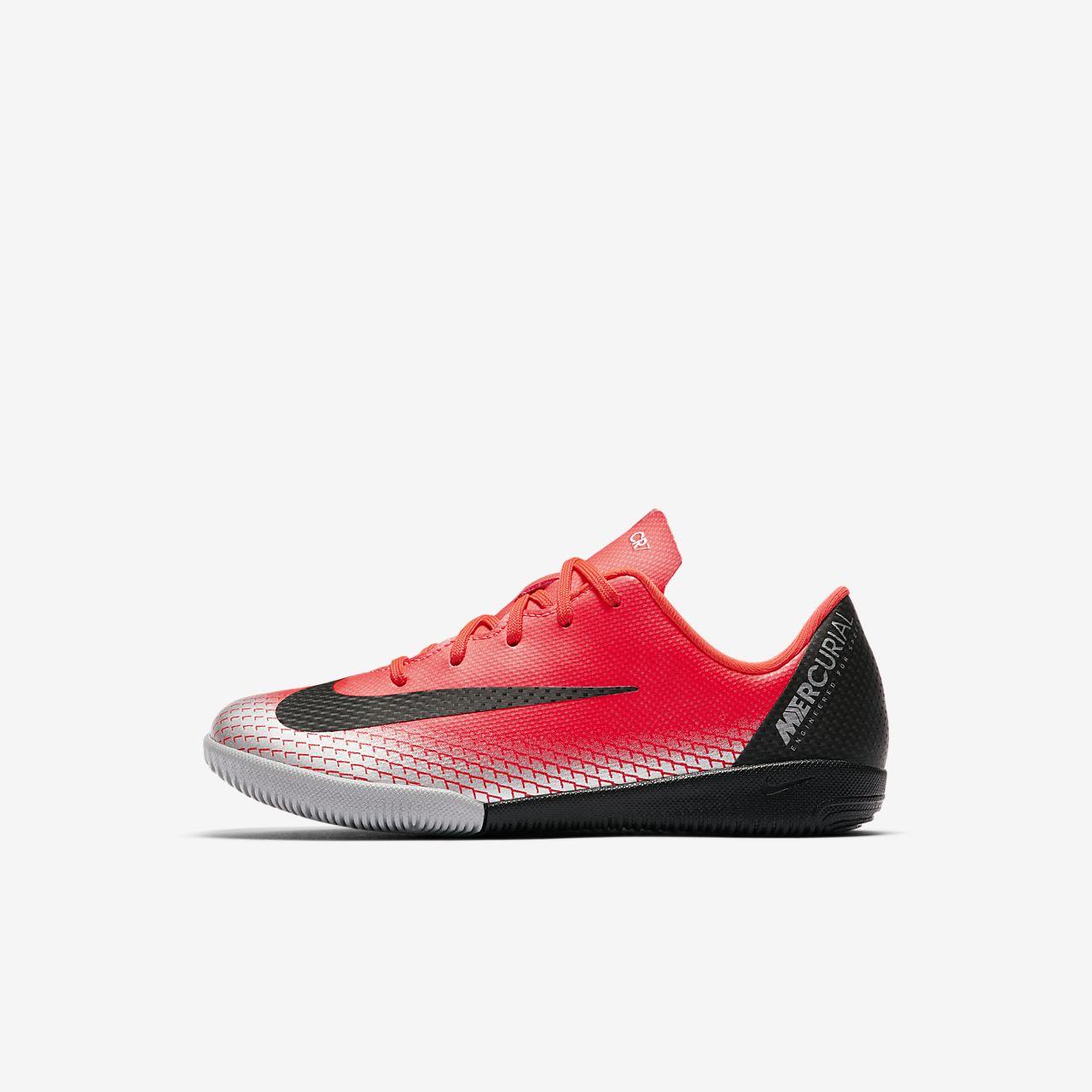 8bf4d87de ... Nike Jr. MercurialX Vapor XII Academy CR7 Younger Kids  Indoor Court  Football Shoe