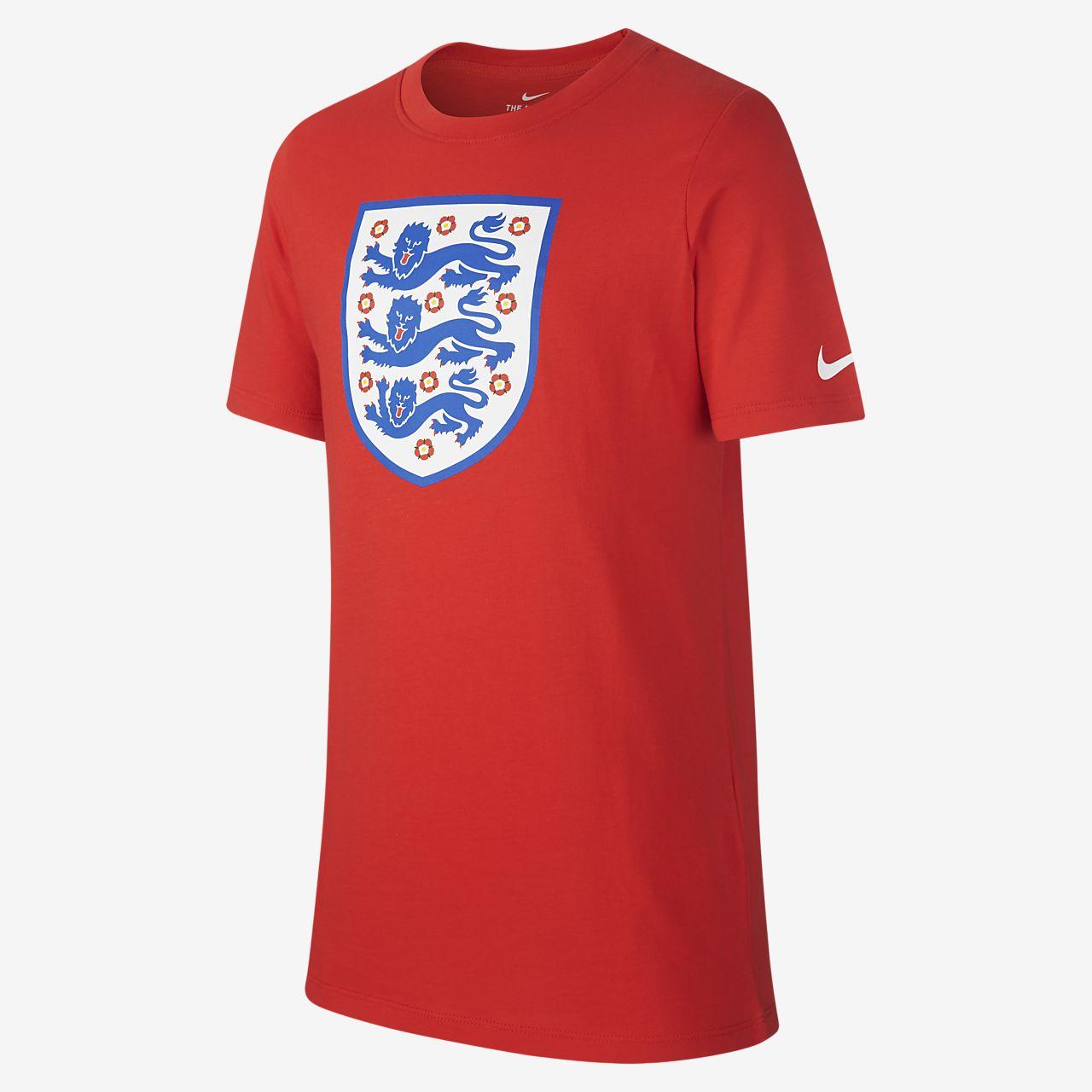 England Crest T-Shirt für ältere Kinder (Jungen)