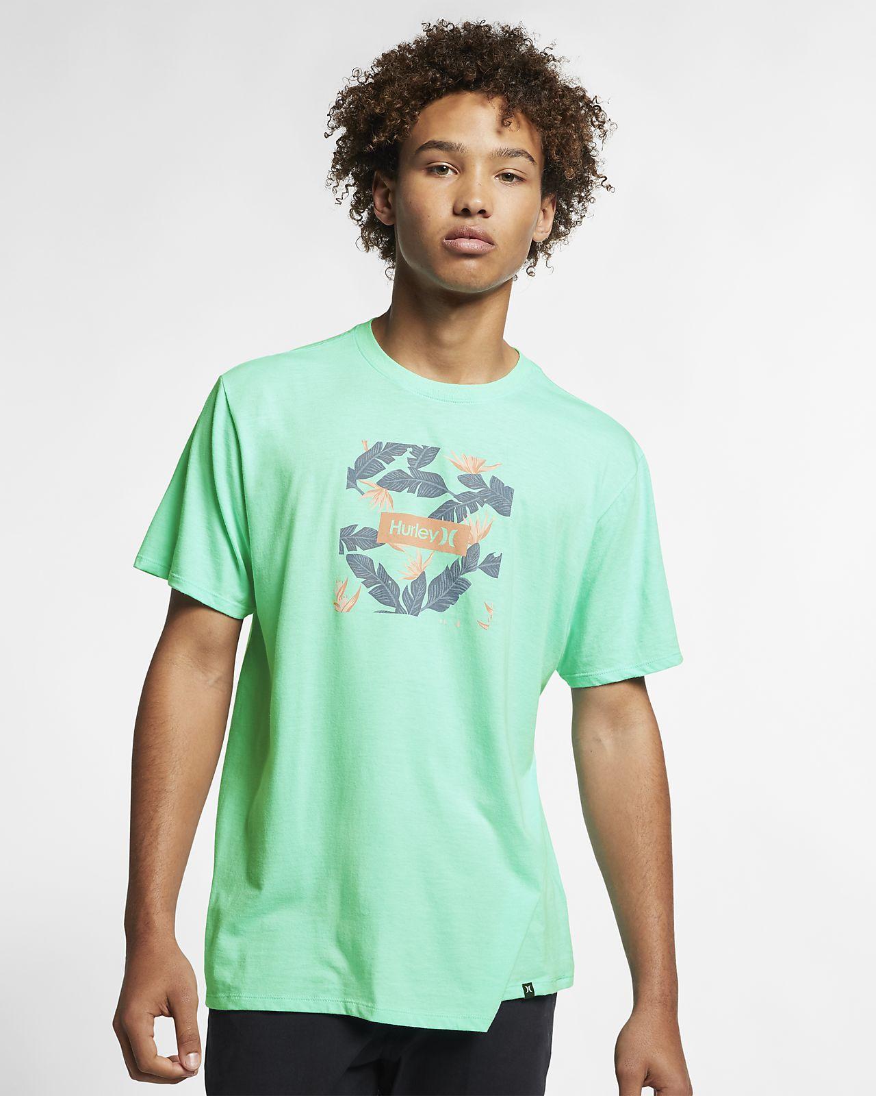 ハーレー プレミアム ボックス フローラル メンズ Tシャツ