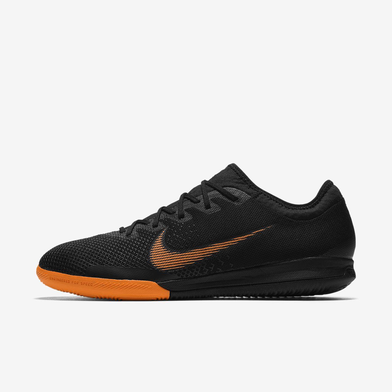 Nike MercurialX Vapor XII Pro IC Black White Total Orange AH7387081