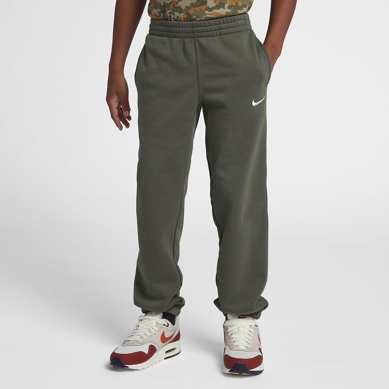 Joggingbroek Met Rits Jongens.Nike Brushed Fleece Cuffed Joggingbroek Jongens Nike Com Be