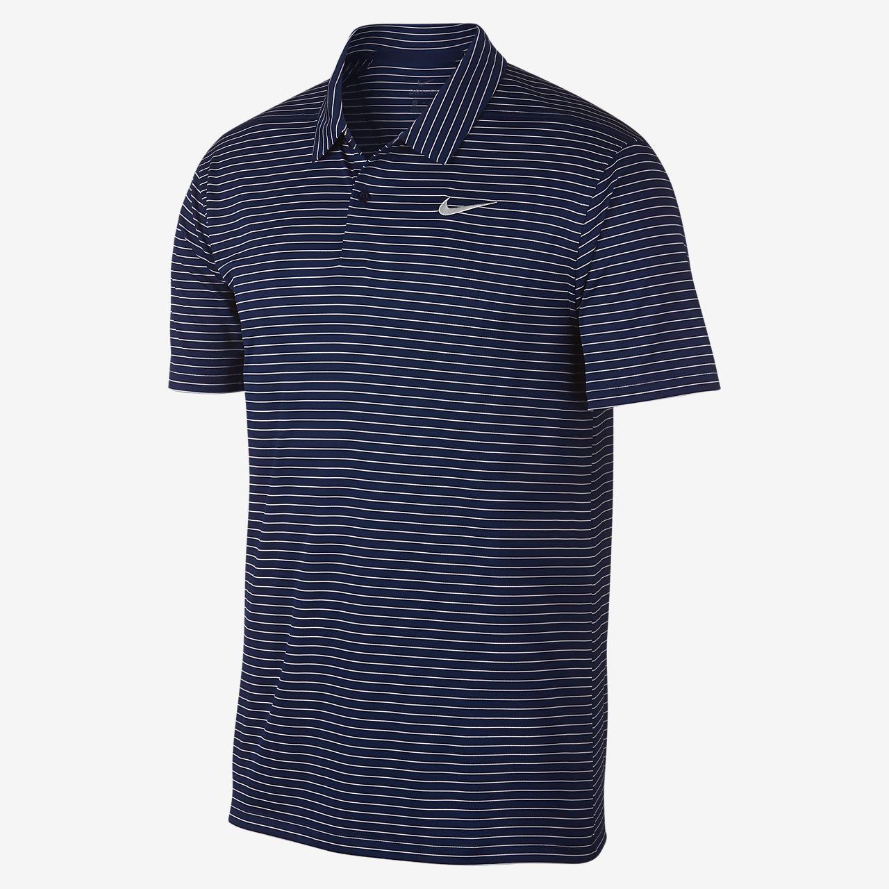 brand new c0fe2 2f499 Nike Dri-FIT gestreiftes Golf-Poloshirt für Herren