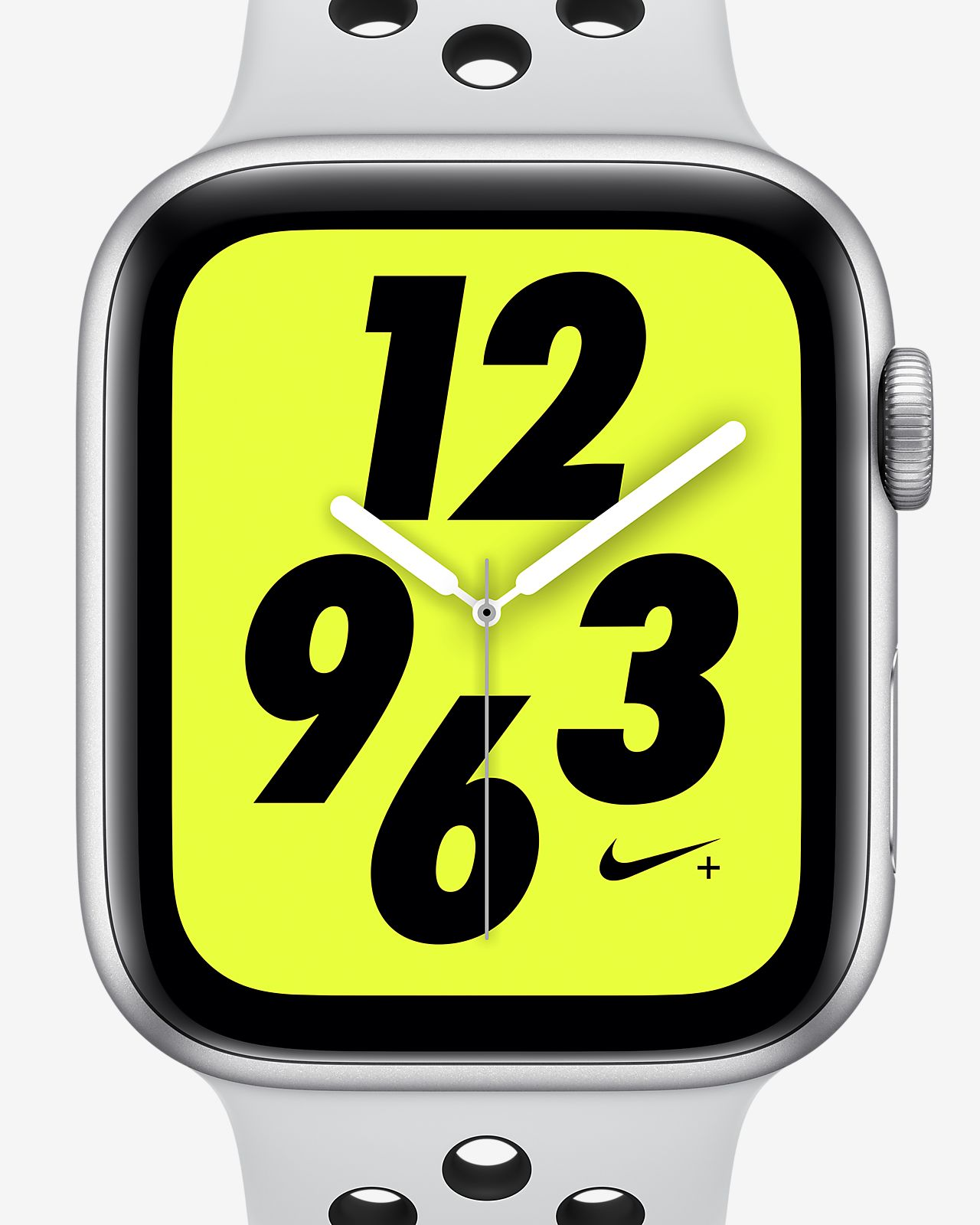 Apple Watch Nike+ Series 4 (GPS) mit Nike Sport Loop 44-mm-Sportuhr