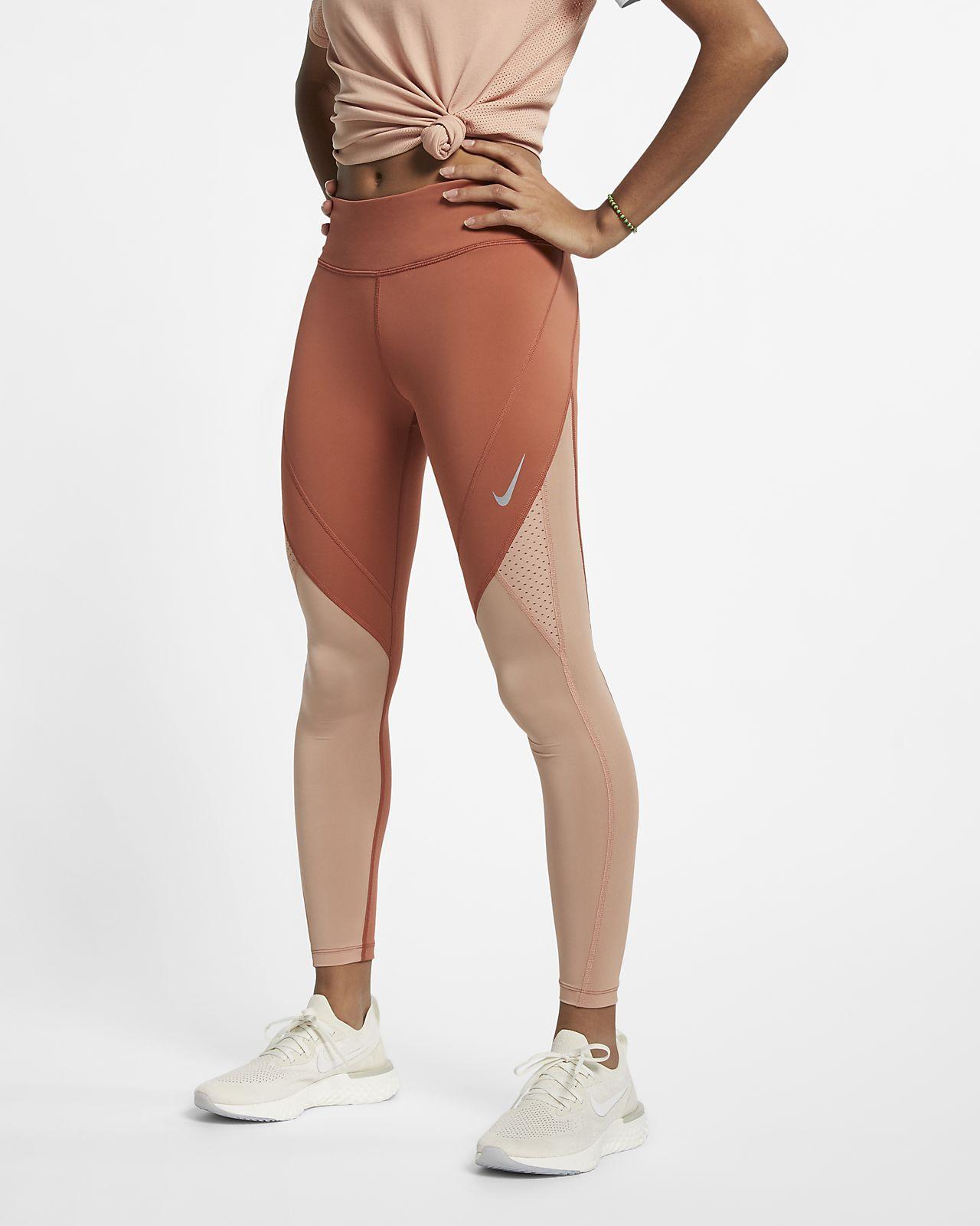 Женские слегка укороченные тайтсы для бега Nike Epic Lux