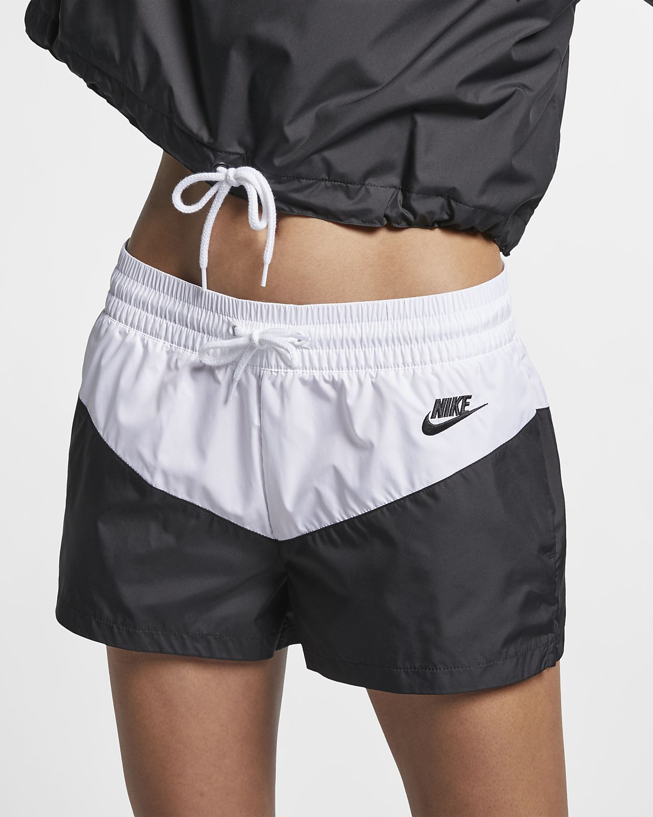 Shorts in woven Nike Sportswear Heritage - Donna