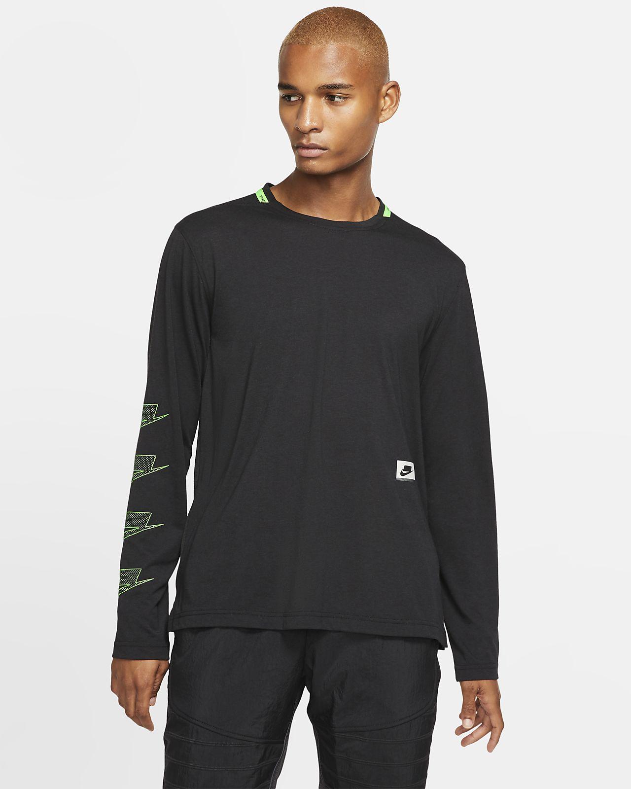 Мужская футболка с длинным рукавом для тренинга Nike Dri-FIT