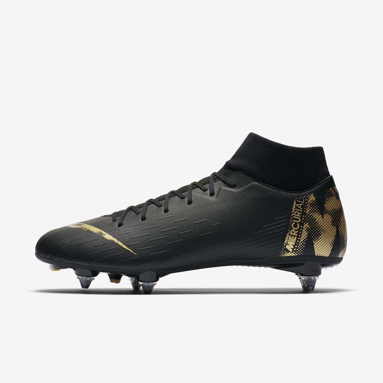 b7609dc6 ... Calzado de fútbol para terreno blando Nike Mercurial Superfly VI  Academy SG-PRO