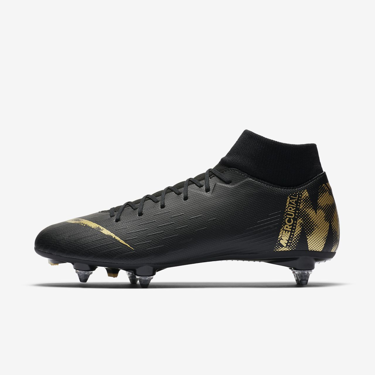 best picked up best deals on Chaussure de football à crampons pour terrain gras Nike Mercurial Superfly  VI Academy SG-PRO