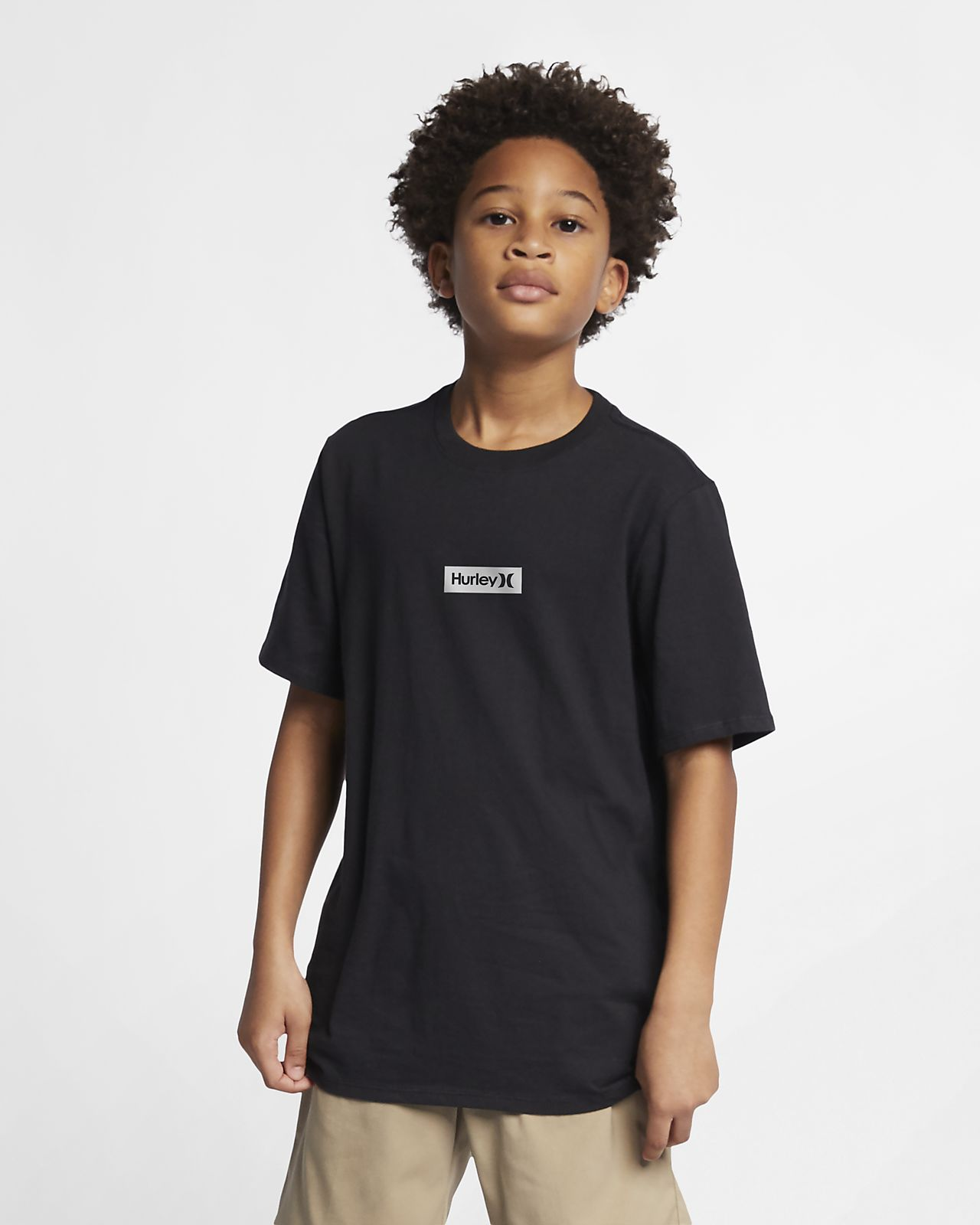 Hurley Premium One And Only Small Box Jungen-T-Shirt