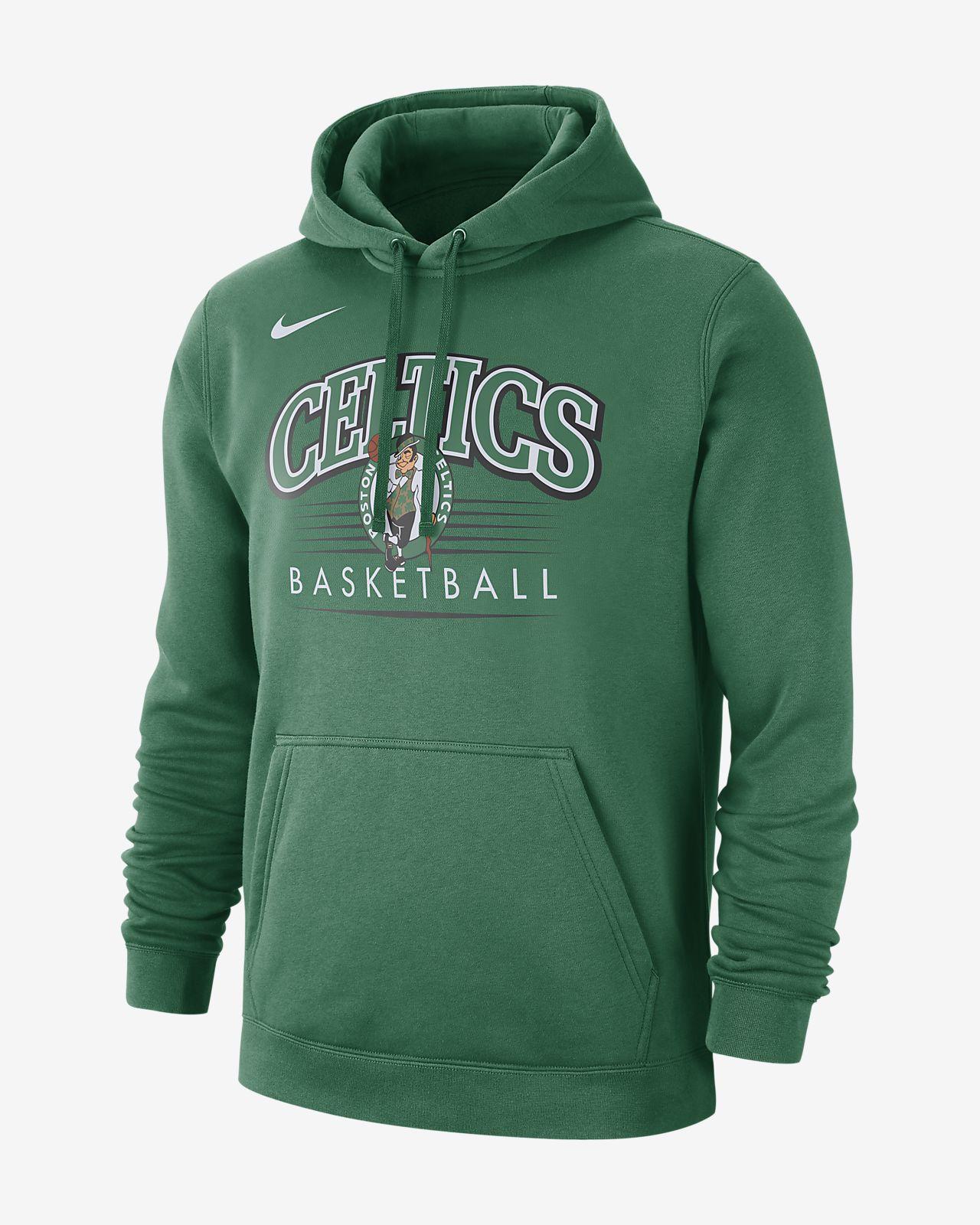 100% autentyczny trampki zniżki z fabryki Męska bluza z kapturem NBA Boston Celtics Nike