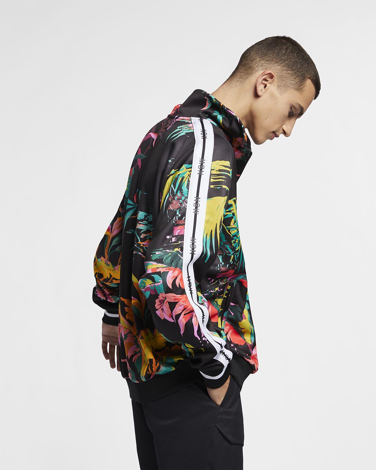 huge selection of cbb7f 470ba ... Nike Sportswear NSW Men s Printed Track Jacket