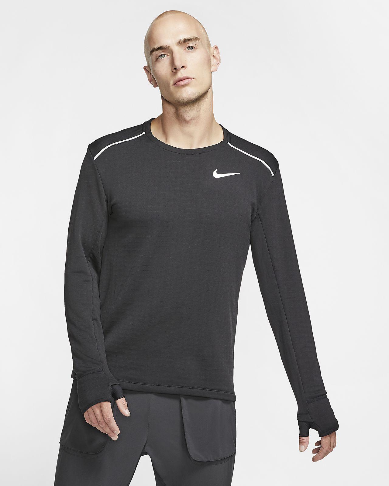 Ανδρική μακρυμάνικη μπλούζα για τρέξιμο Nike Therma Sphere Element 3.0