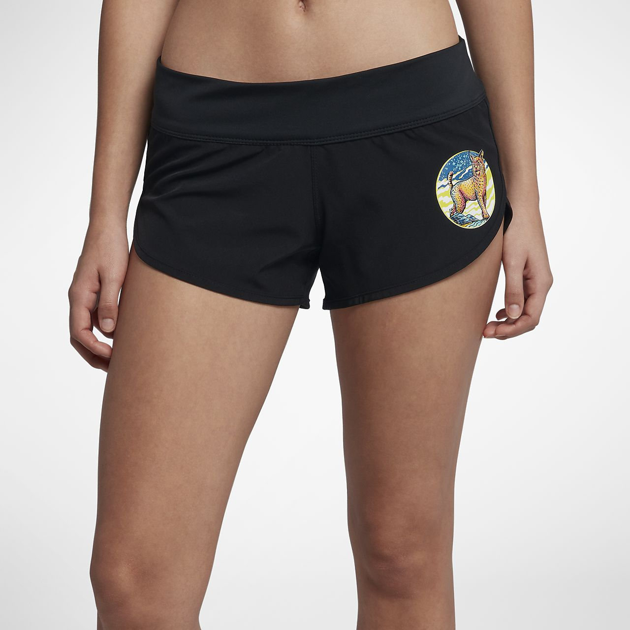 Shorts de playa para mujer Hurley Phantom Beachrider Team Peterson