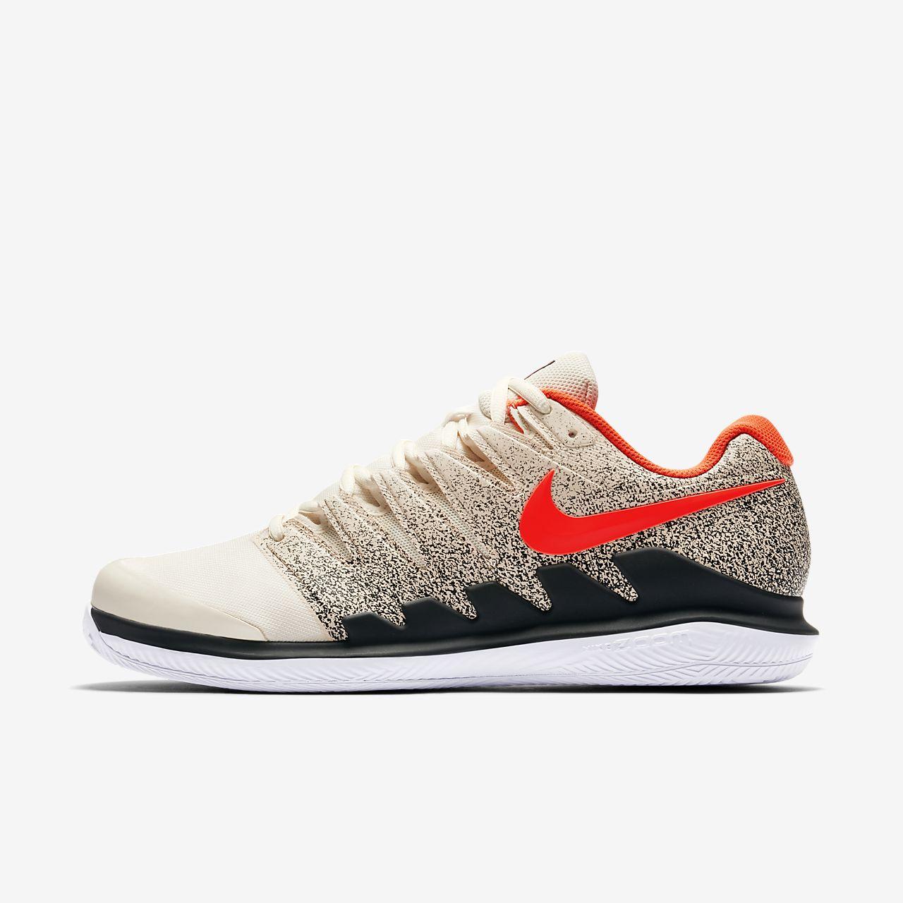 Nike Performance AIR ZOOM VAPOR X CLAY - Outdoor tennis shoes - light cream/bleached aqua/black or3A9C9L