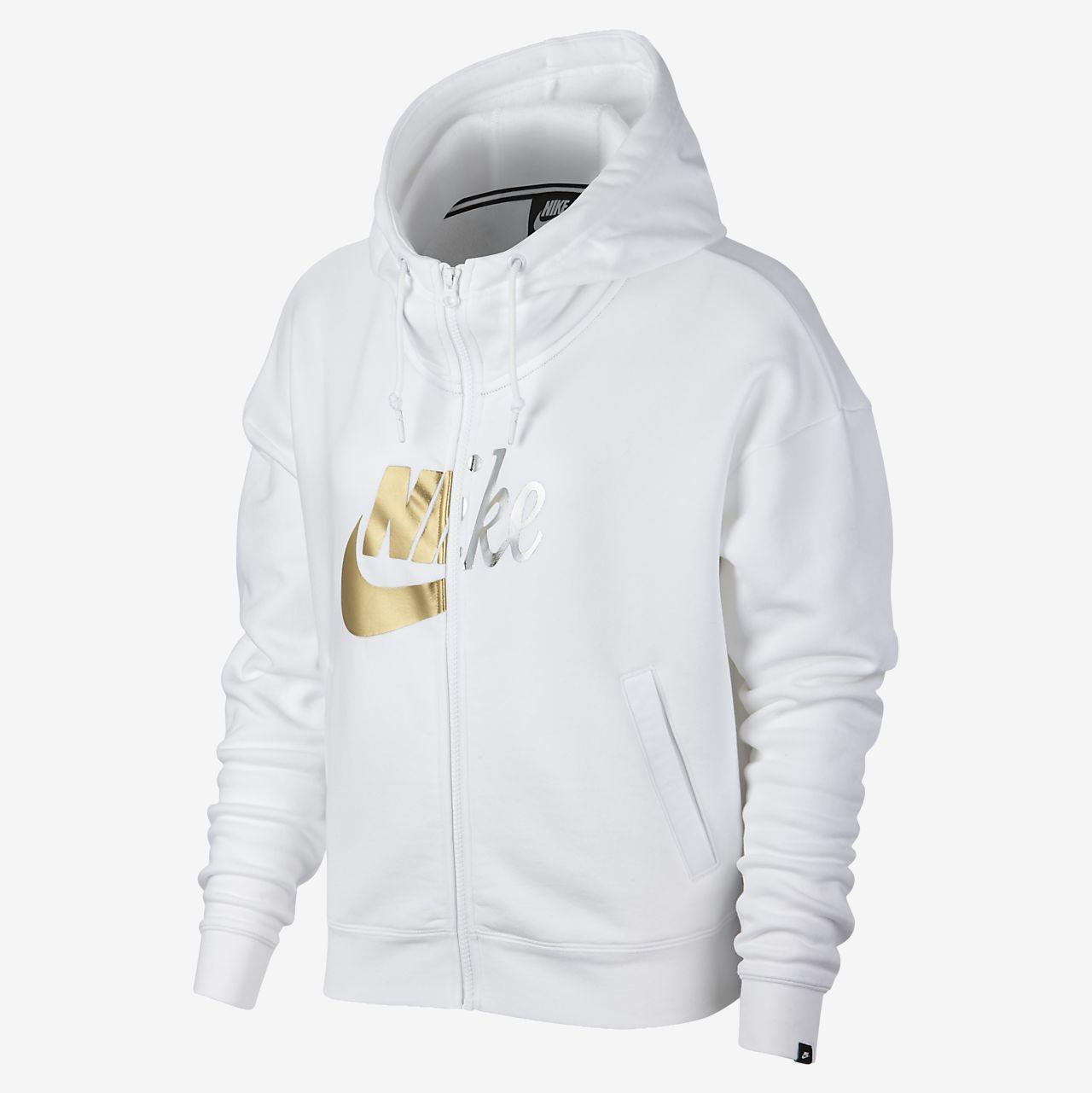 Nike Sportswear Rally Women's Metallic Full-Zip Hoodie