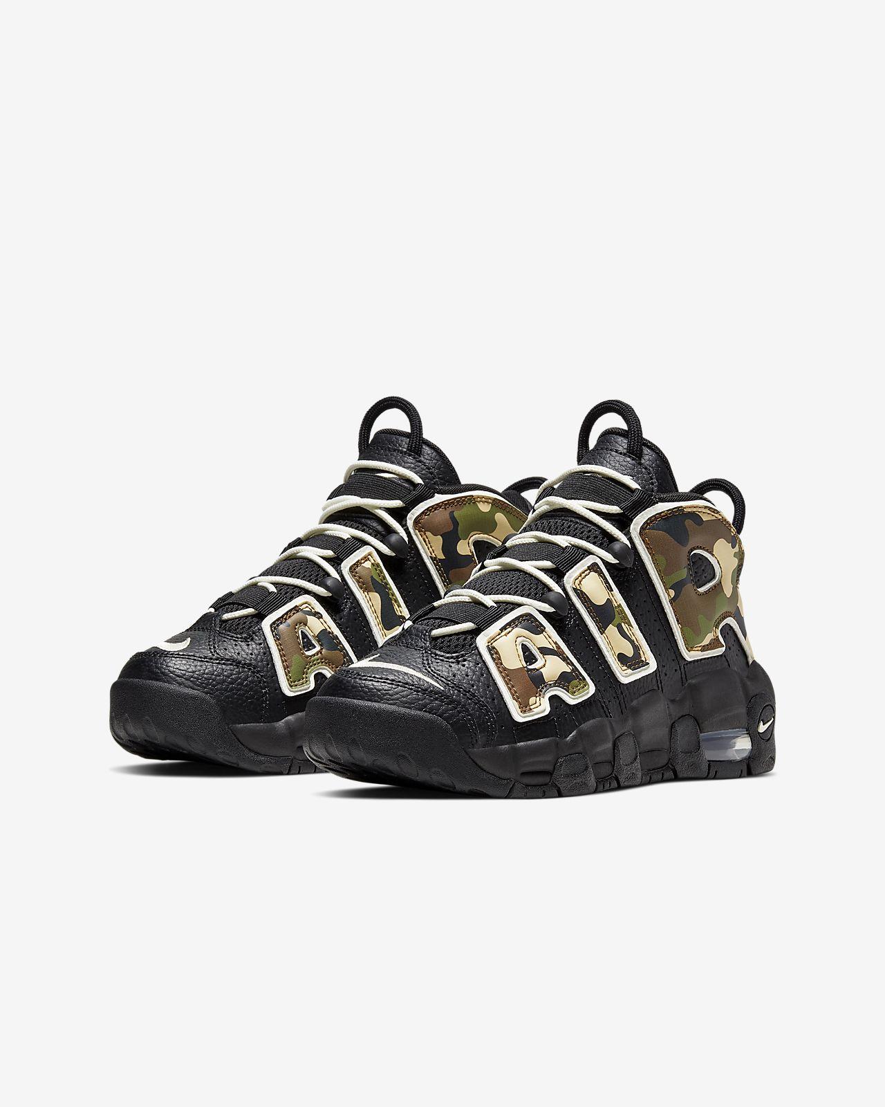 Nike Air More Uptempo QS Big Kids' Shoe