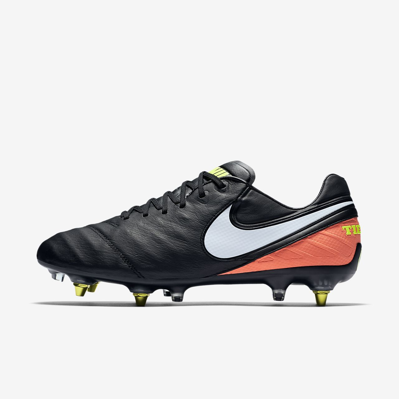 Chaussure de football à crampons pour terrain gras Nike Tiempo Legend VI SG PRO Anti Clog Traction