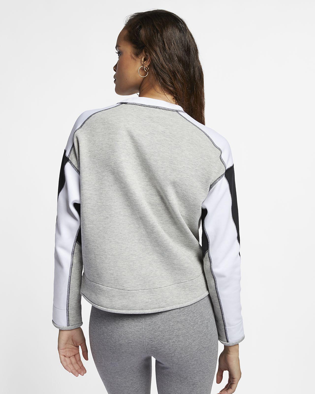7f46ada6168a Nike Sportswear Tech Fleece Women s Crew. Nike.com NZ