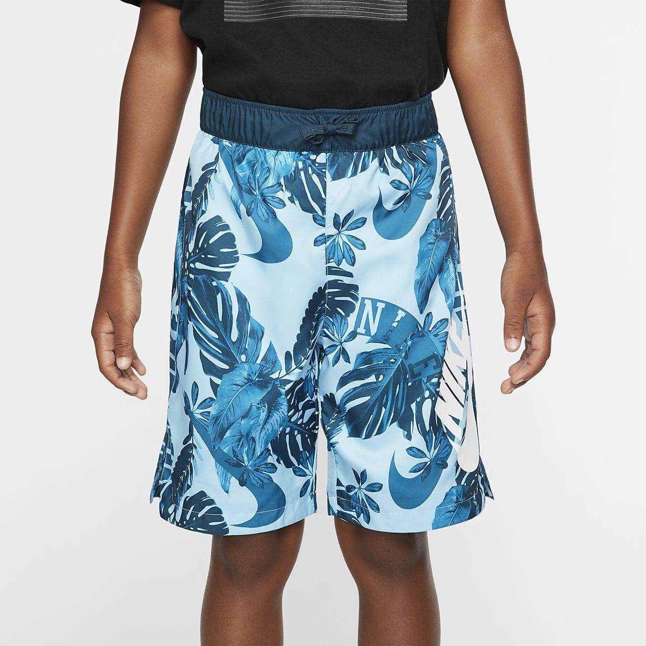 Calções entrançados com estampado Nike Sportswear Júnior (Rapaz)